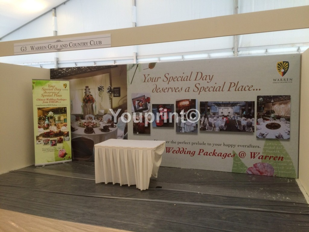 Backdrop Printing in Singapore   Event Stage Backdrop