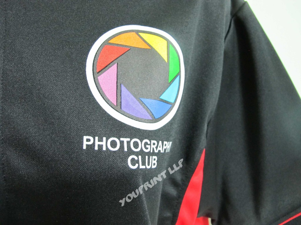 Design your own t shirt in singapore - Embroidery